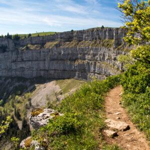 Wandern am Abgrund: Der Creux du Van