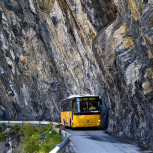 Die Derborence-Route: in den Fels gehauen