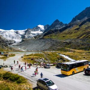 Grosskampftag am Moiry-Gletscher; der Crossway steht bereit!