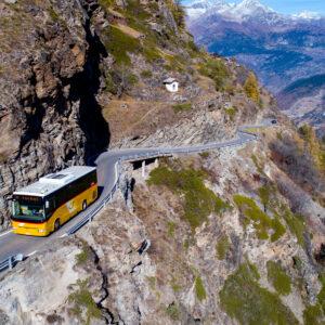 Bergfahrt vom Saastal nach Törbel (VS)