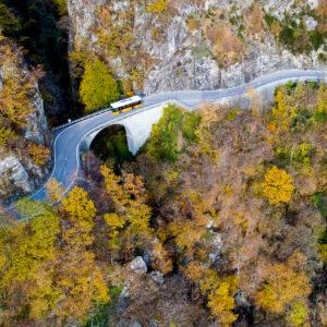 Auf spektakulärer Strecke ins Onsernonetal (TI)