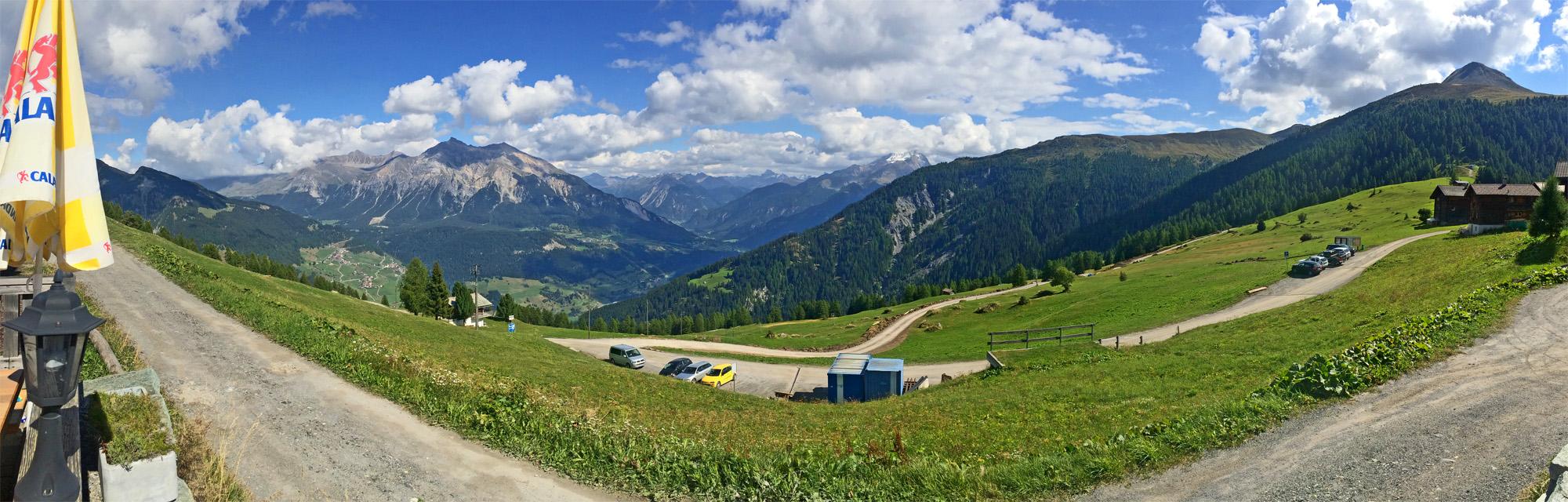 Obermutten-Panorama