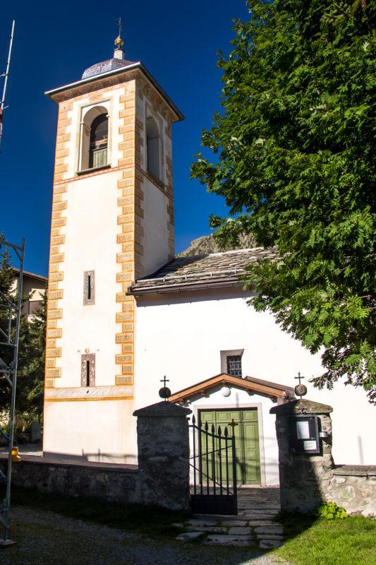 Pfarrkirche Son Giagl (St. Gallus), die aufs 13. Jahrhundert oder früher zurückgeht