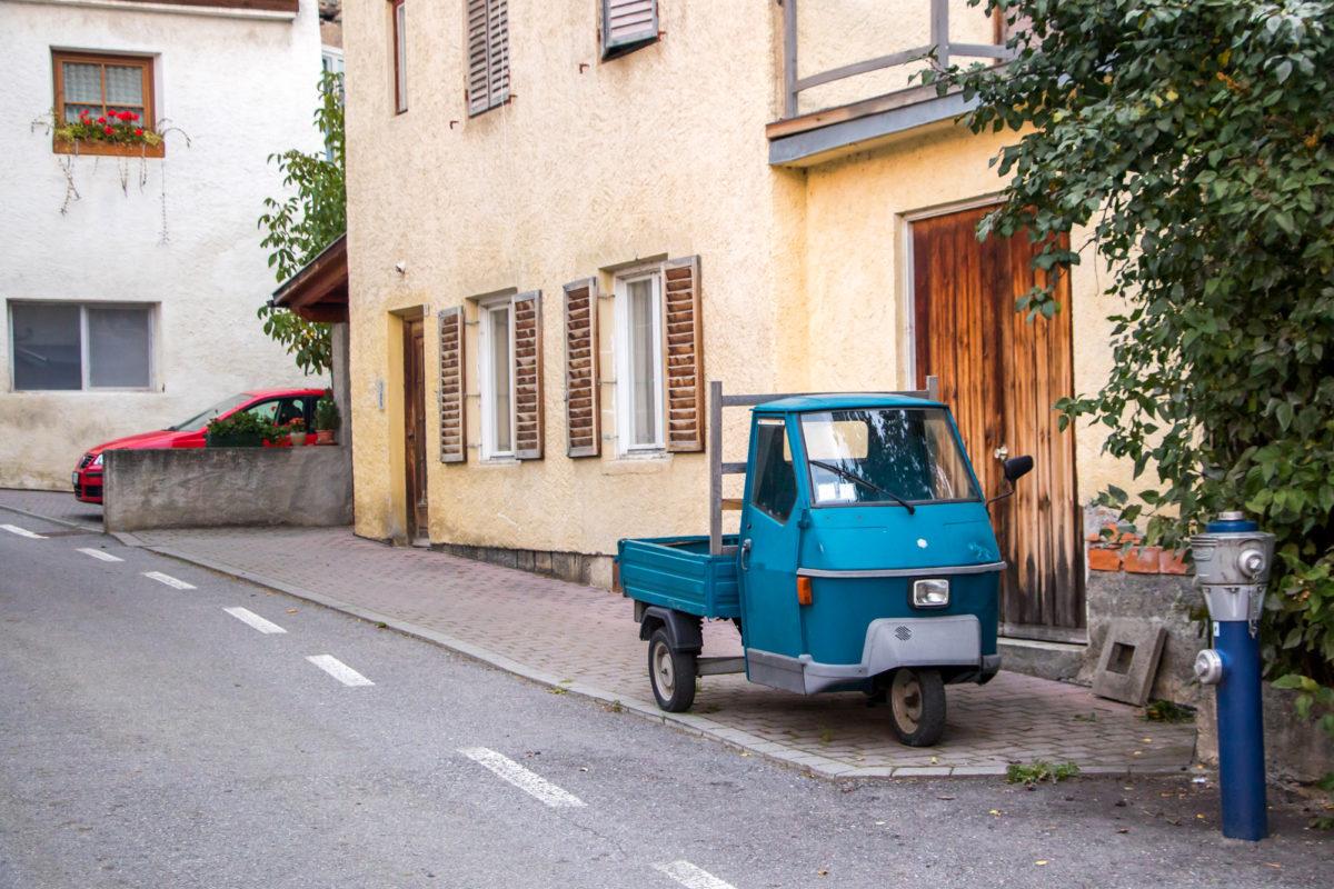 Etwas Italianità ist hier doch noch zu sehen :)