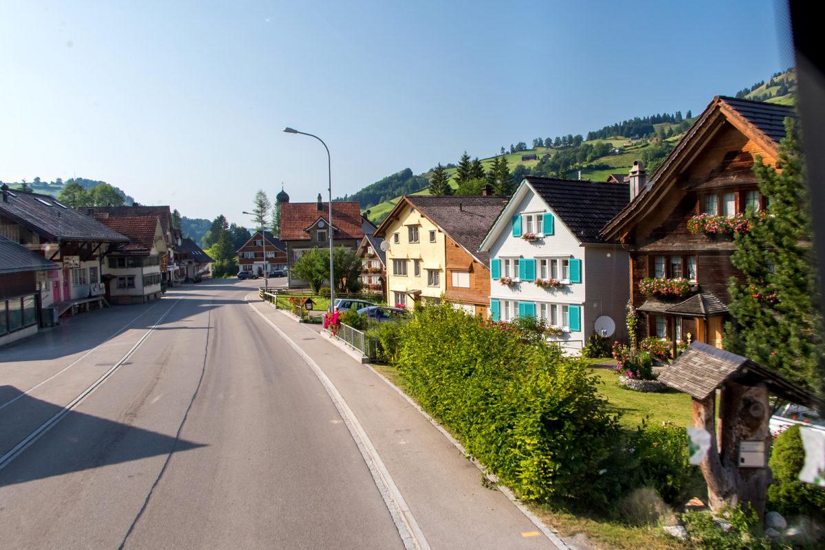 Der heutige Dorfkern von Stein