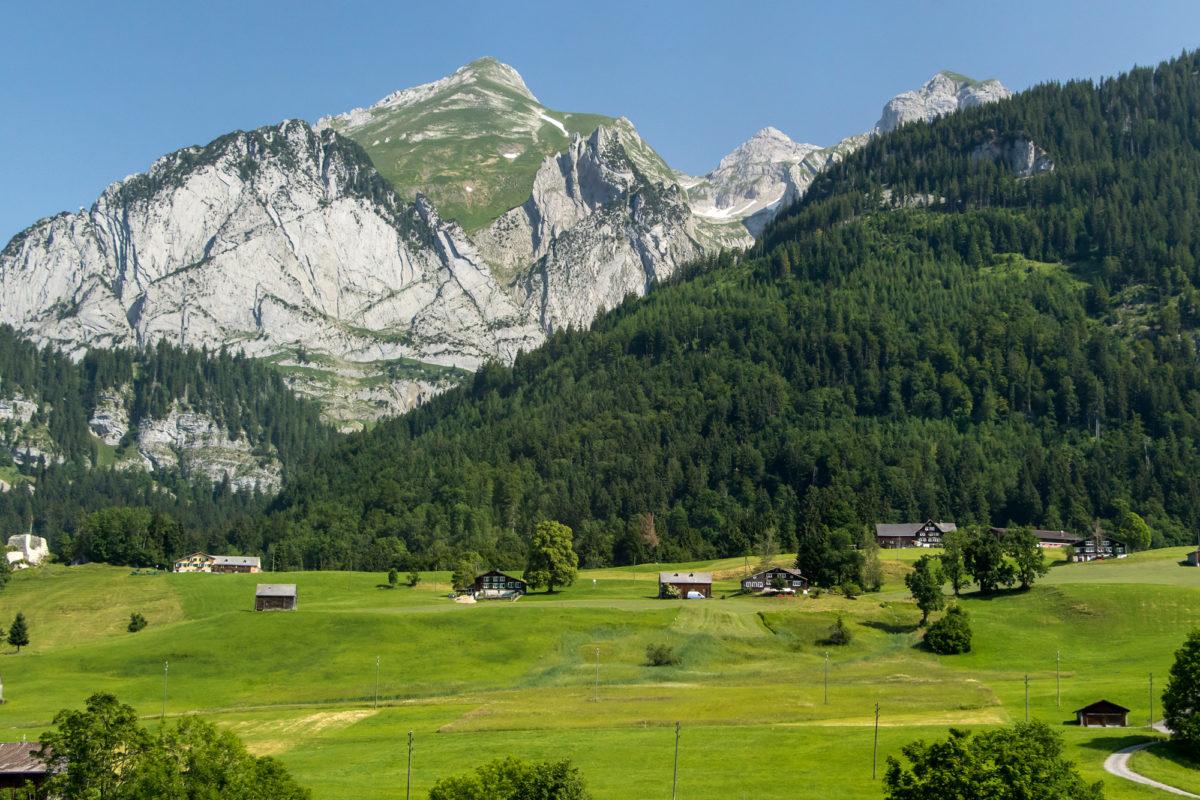 Die Felsen des Alpstein-Massivs sind nie fern...