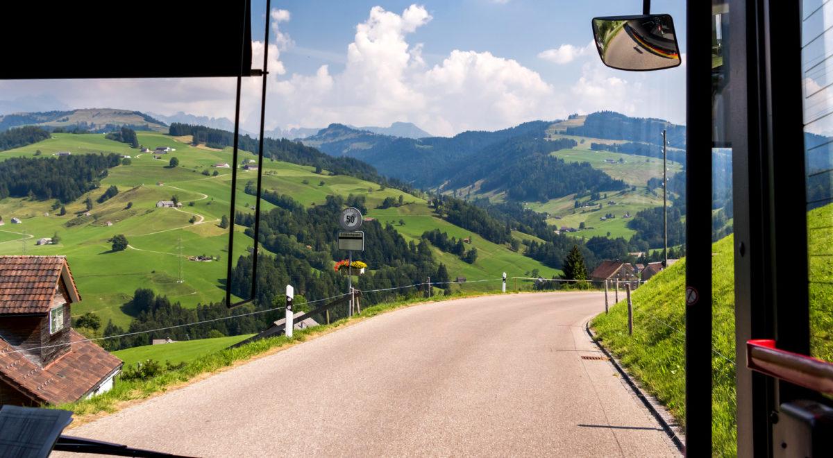 Abstieg in Richtung St. Peterzell