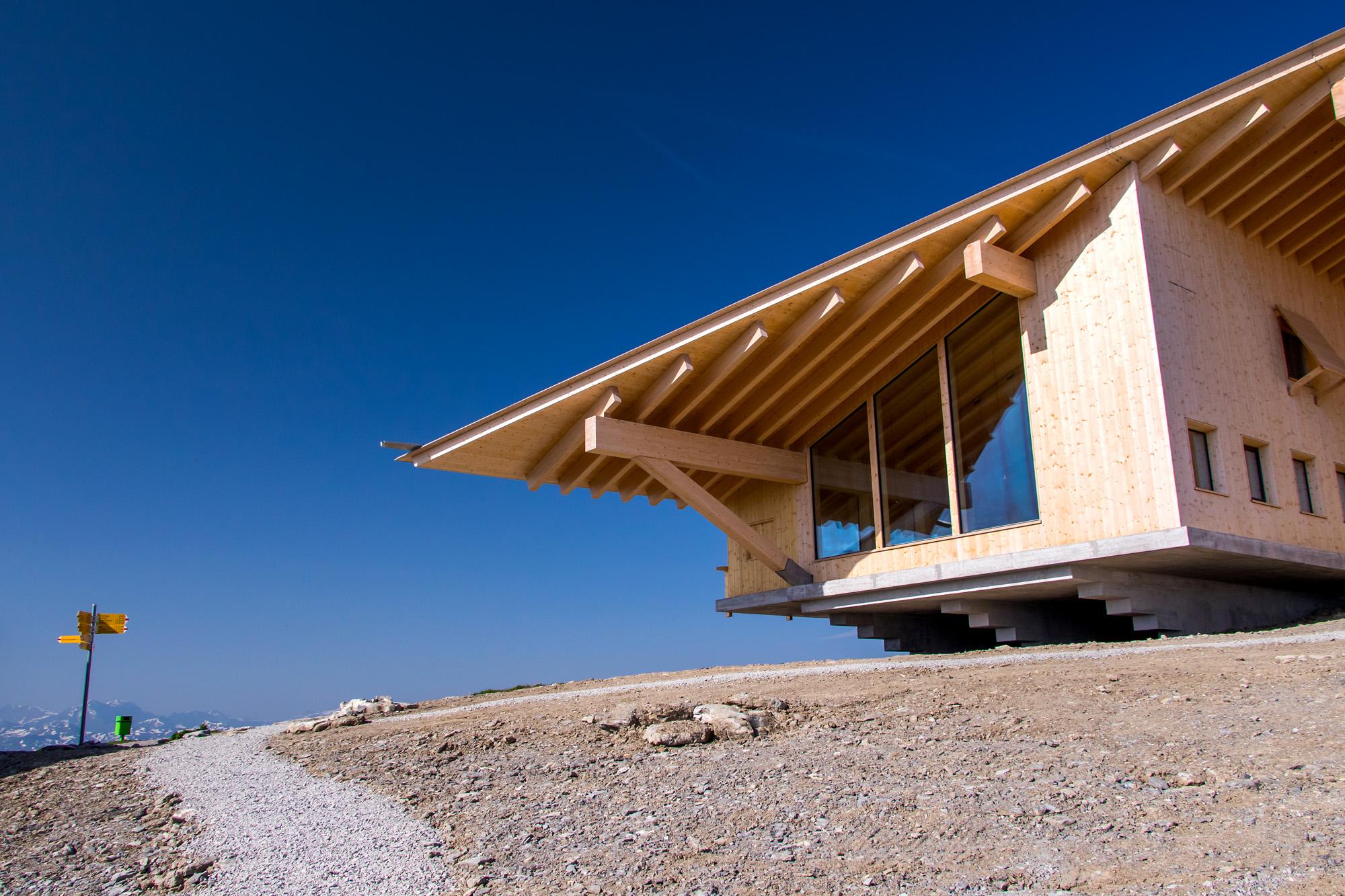 Interessante Architektur in luftiger Höhe: Passt!