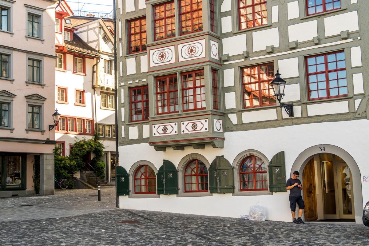 Haus der Kirchgemeinde am Gallusplatz