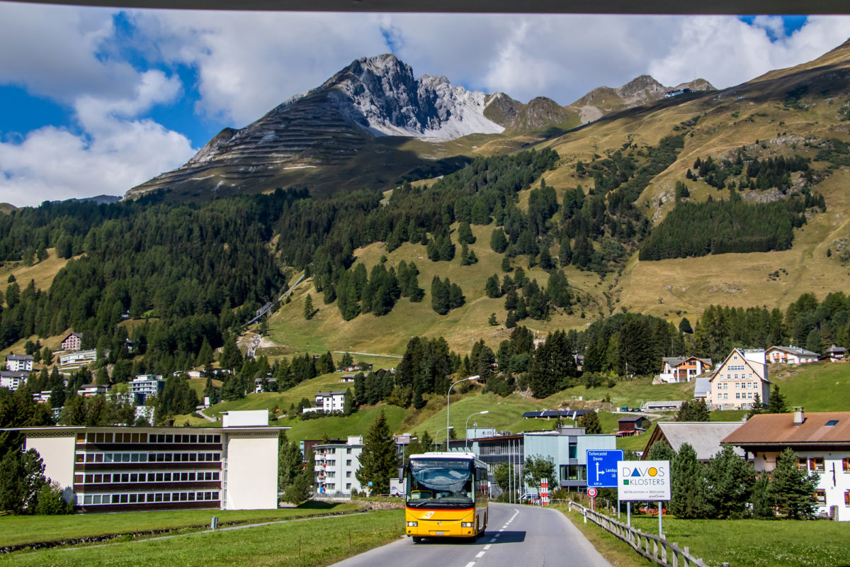Willkommen in Davos - der höchsten Stadt der Alpen!