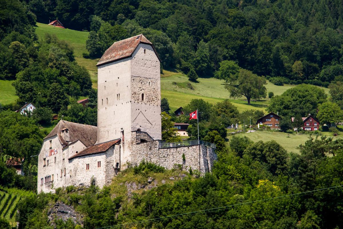 Das eindrückliche Schloss Sargans (SG)