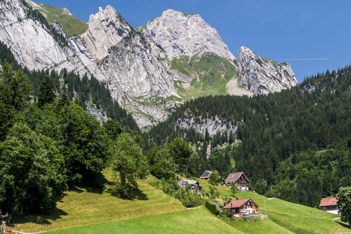 Im Schatten des Alpsteins - Landschaften im Toggenburg bei Wildhaus (SG)
