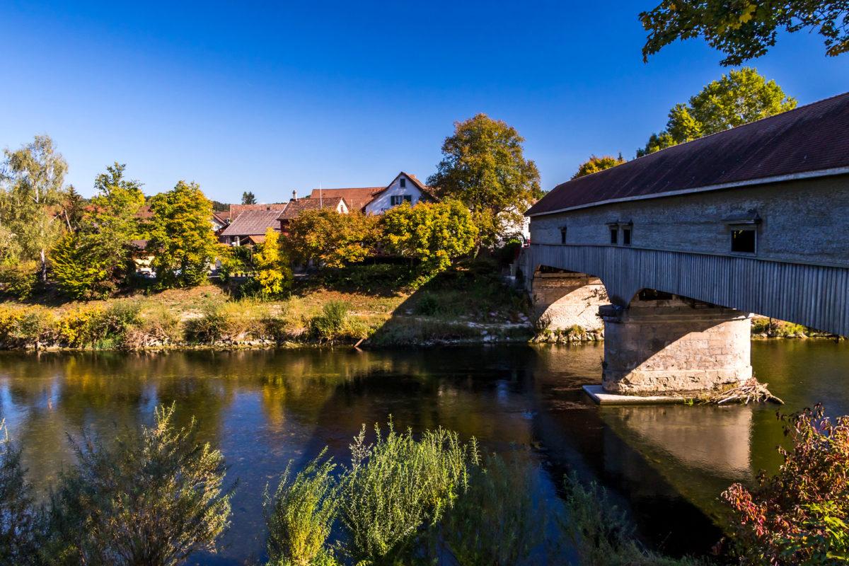 Der Ursprung von Andelfingens Aufstieg: Die Brücke über die Thur