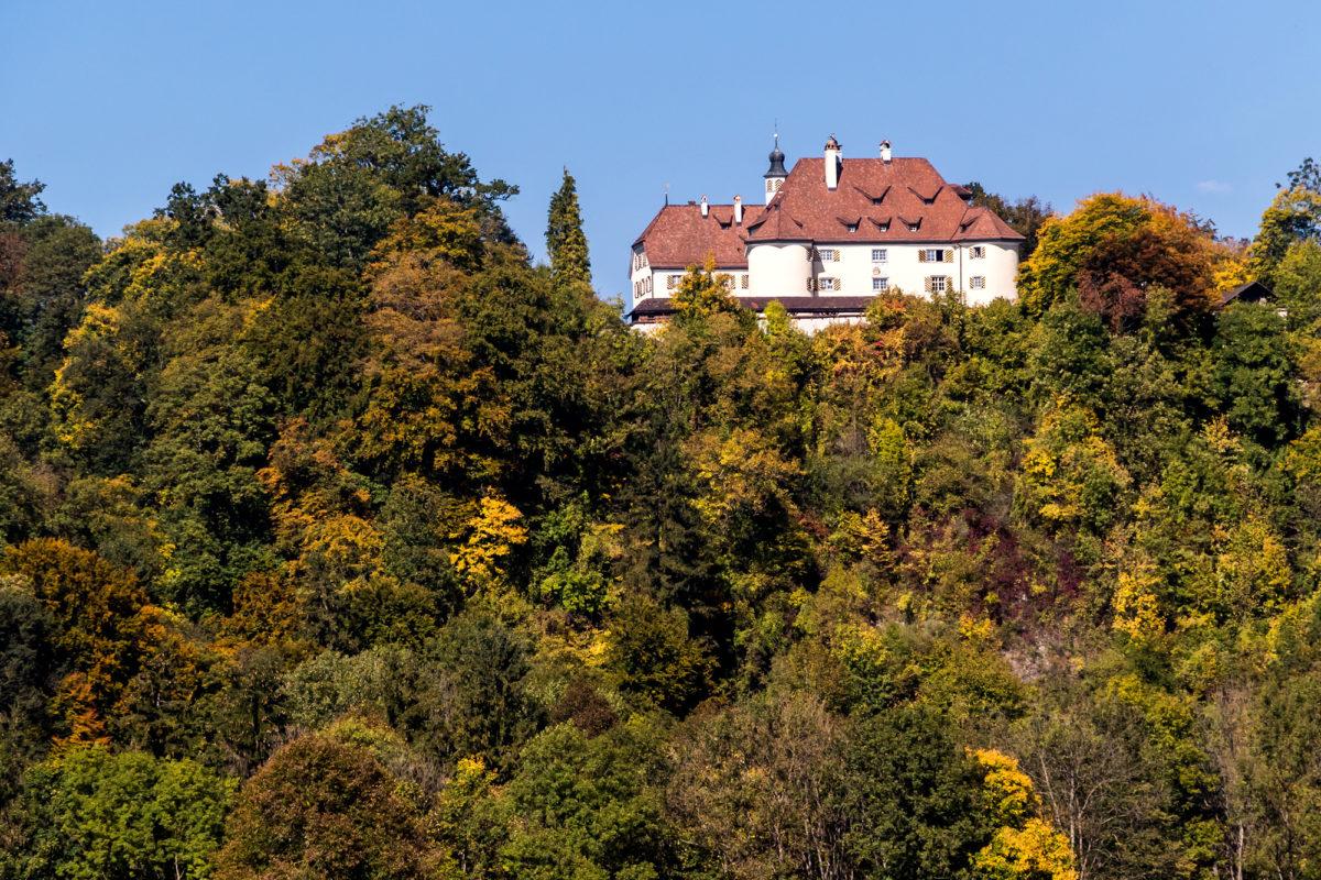 ...und vorbei am Kloster St. Gallenberg, beheimatet in der ehemaligen Glattburg