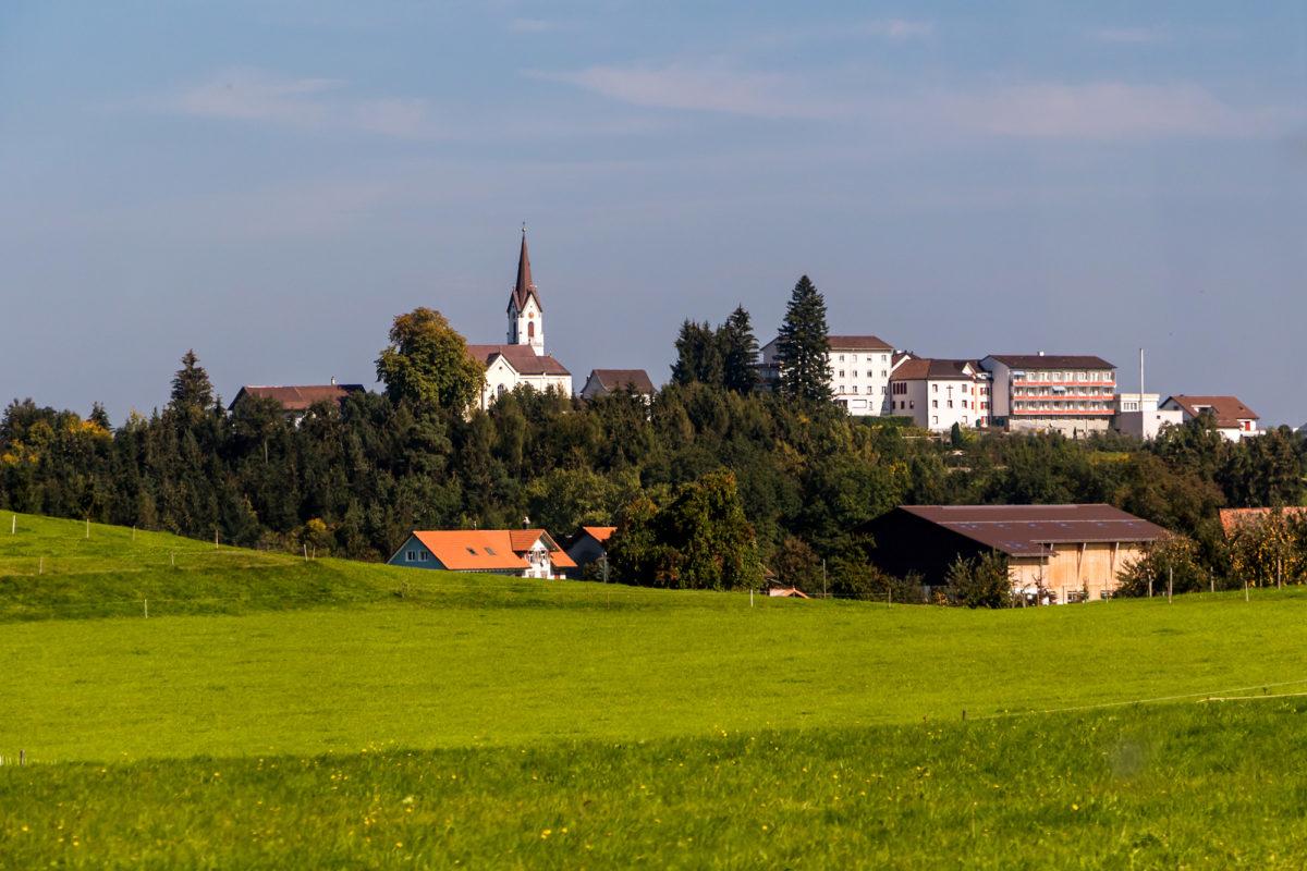 Da ist er endlich, der ominöse St. Pelagiberg