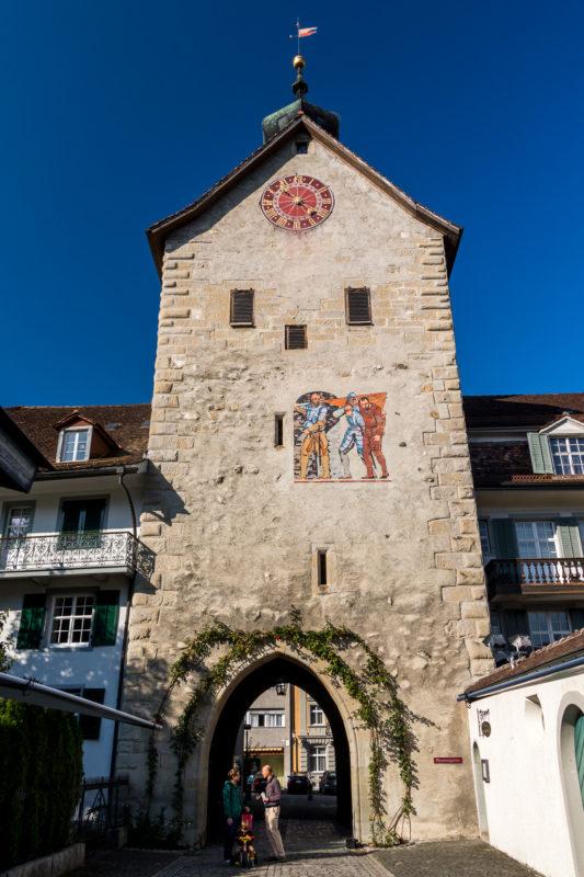 Tretet herein, in die Altstadt von Bischofszell!