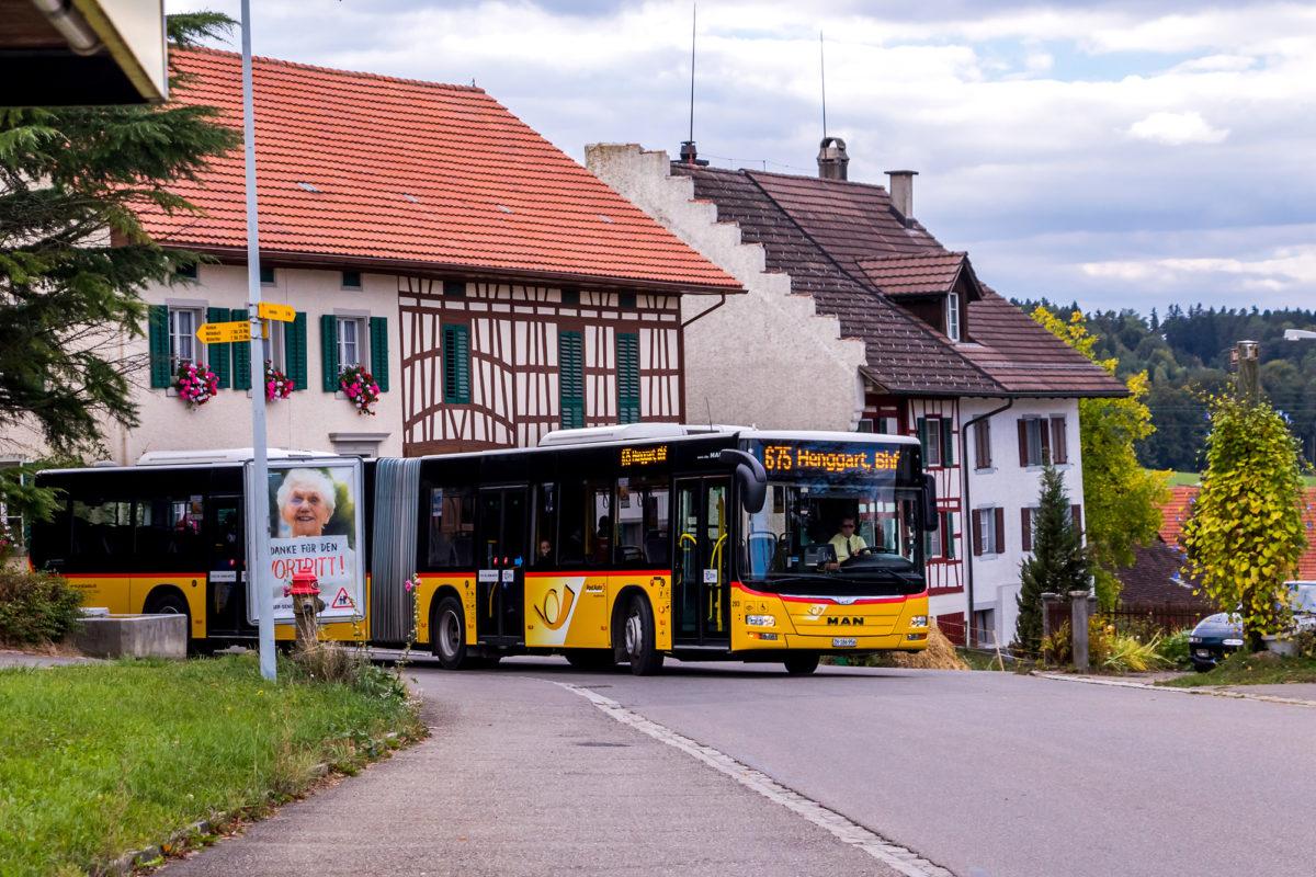 ...doch der Bus kommt tatsächlich!