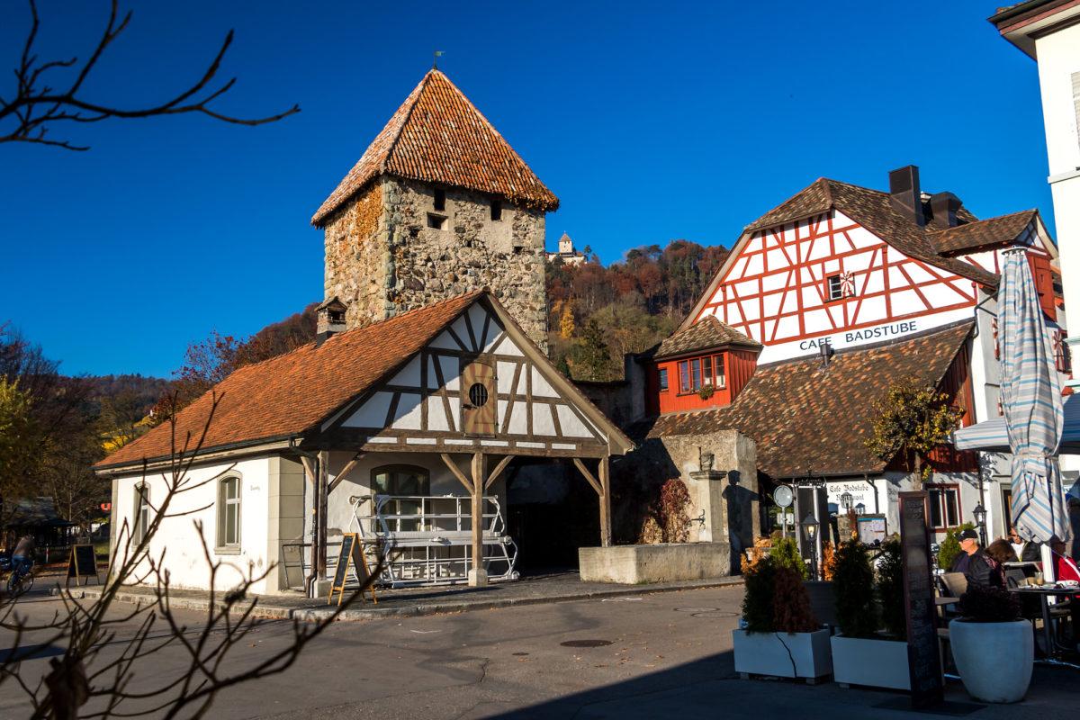 Der Hexenturm aus dem 14. Jahrhundert