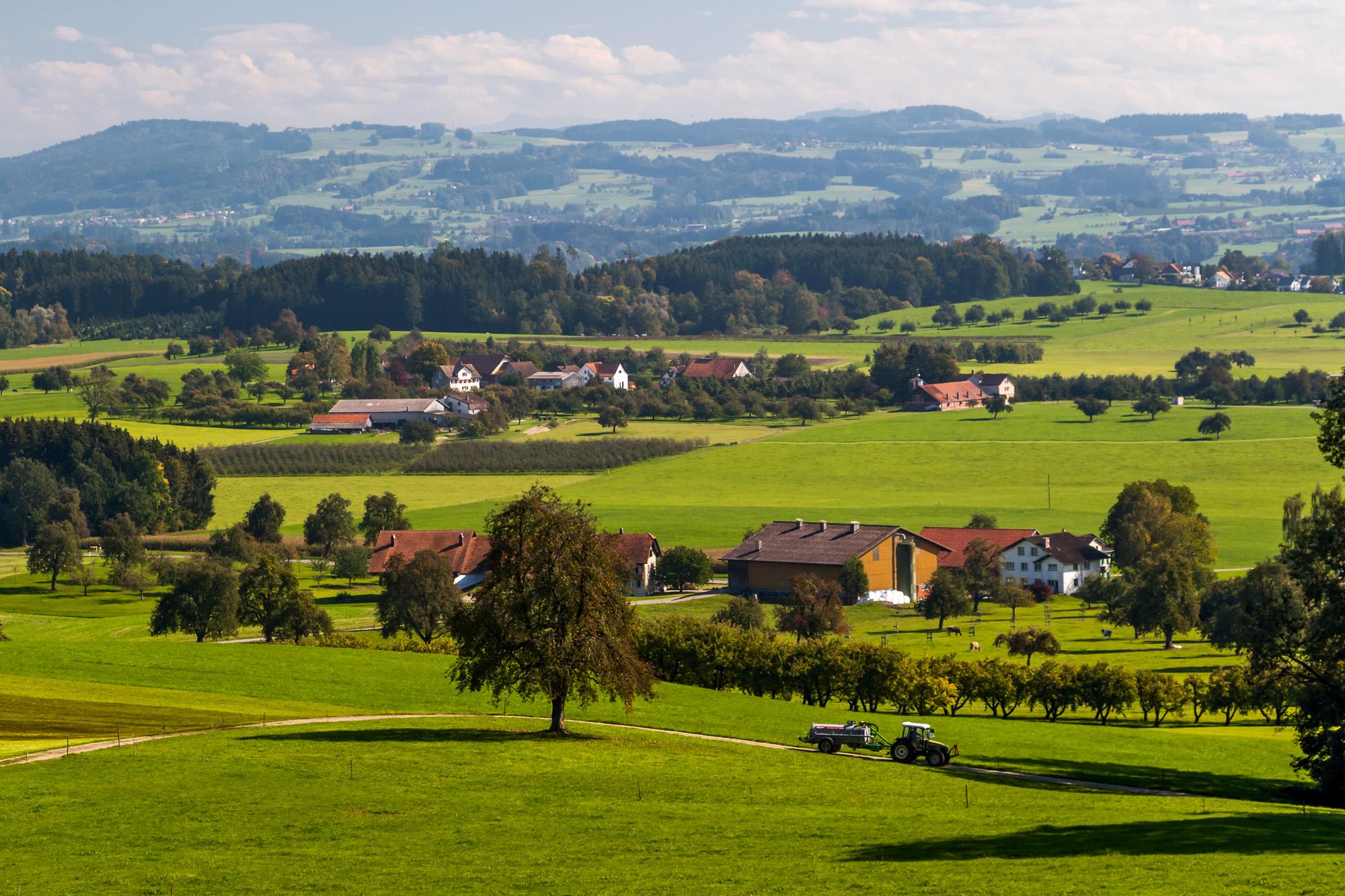 Ostschweizer Landwirtschafts-Panorama