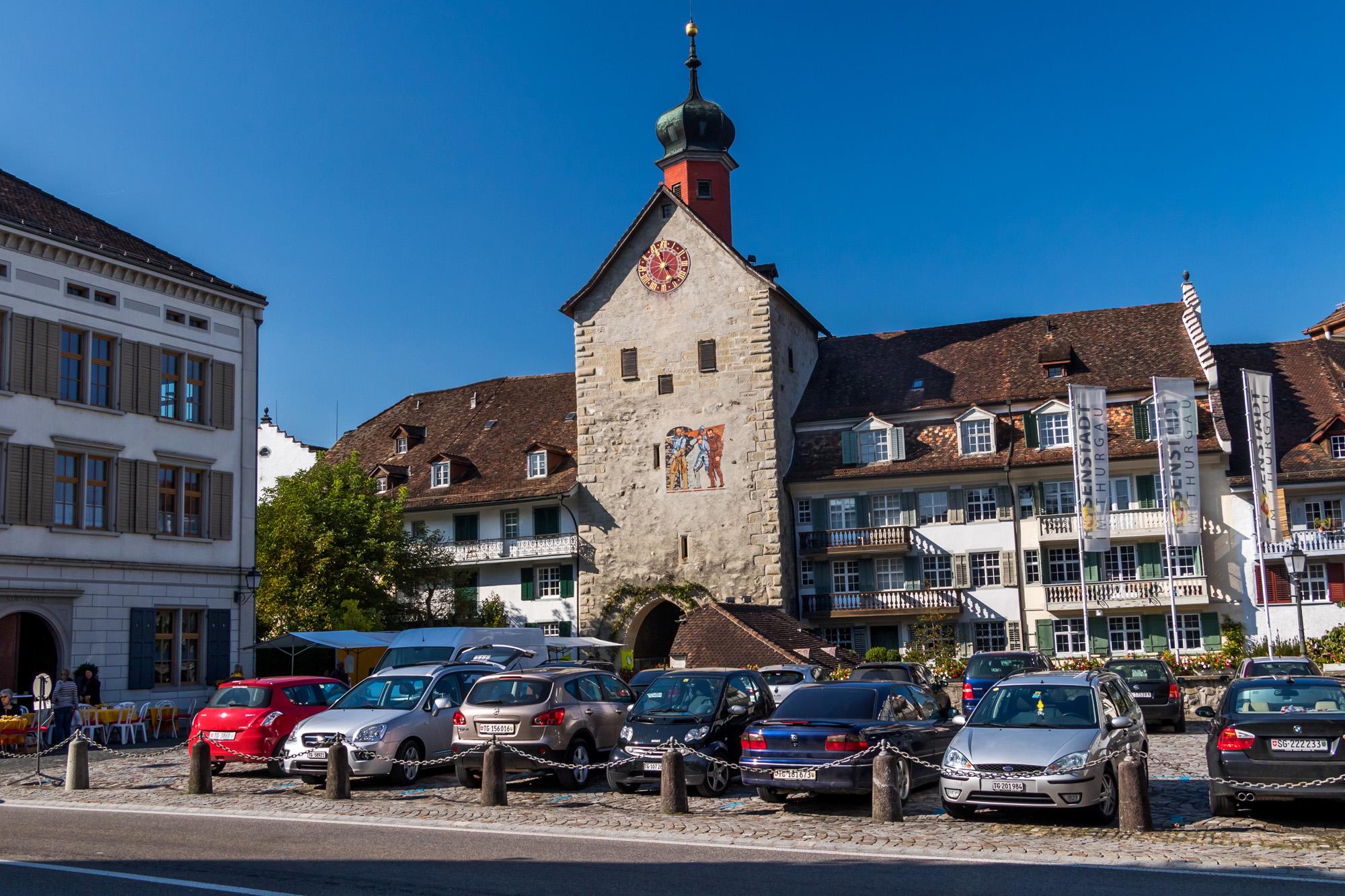 Adieu Bischofszell, und danke für die herzige Altstadt!