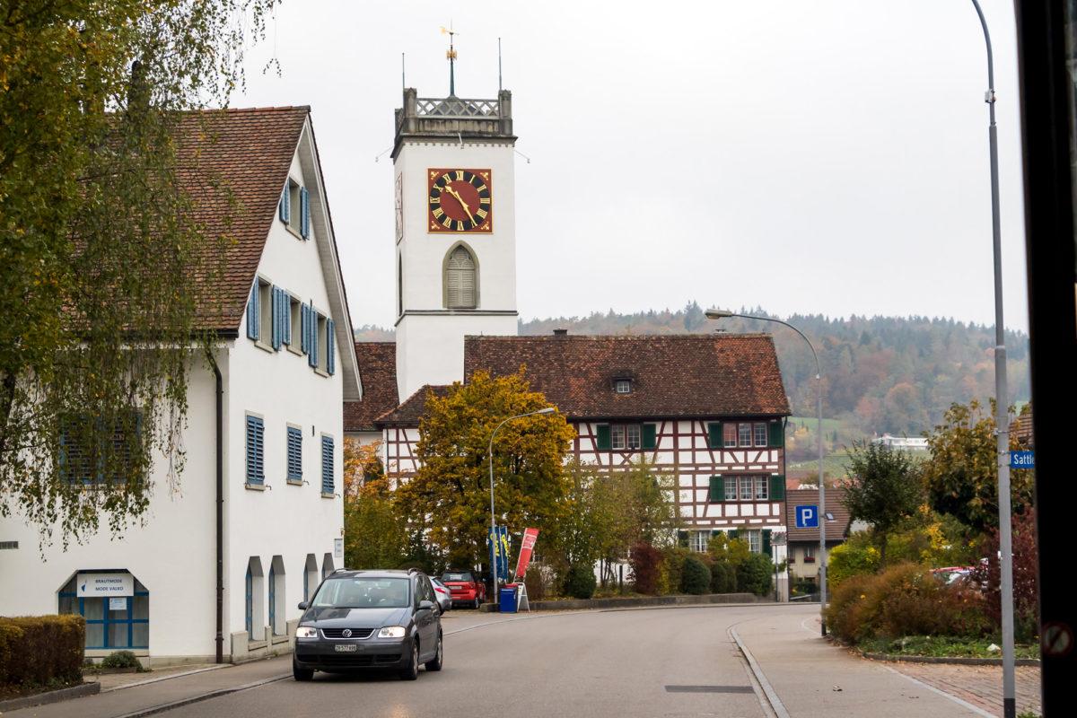 Im Zentrum von Neftenbach