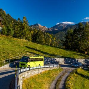 Der Vario auf neuerlicher Bergfahrt in Richtung Gaflei