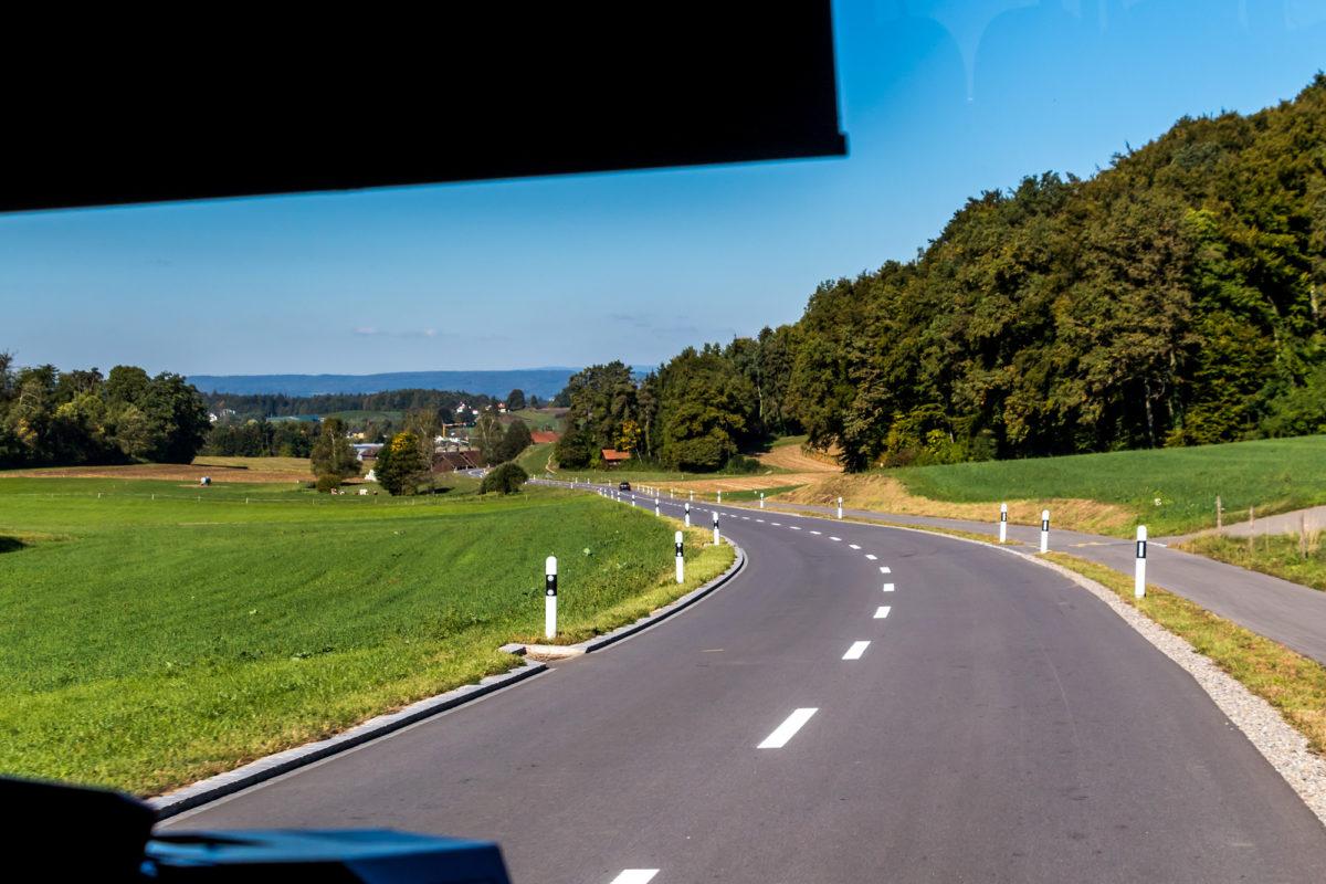 Ab geht's nach Ossingen...