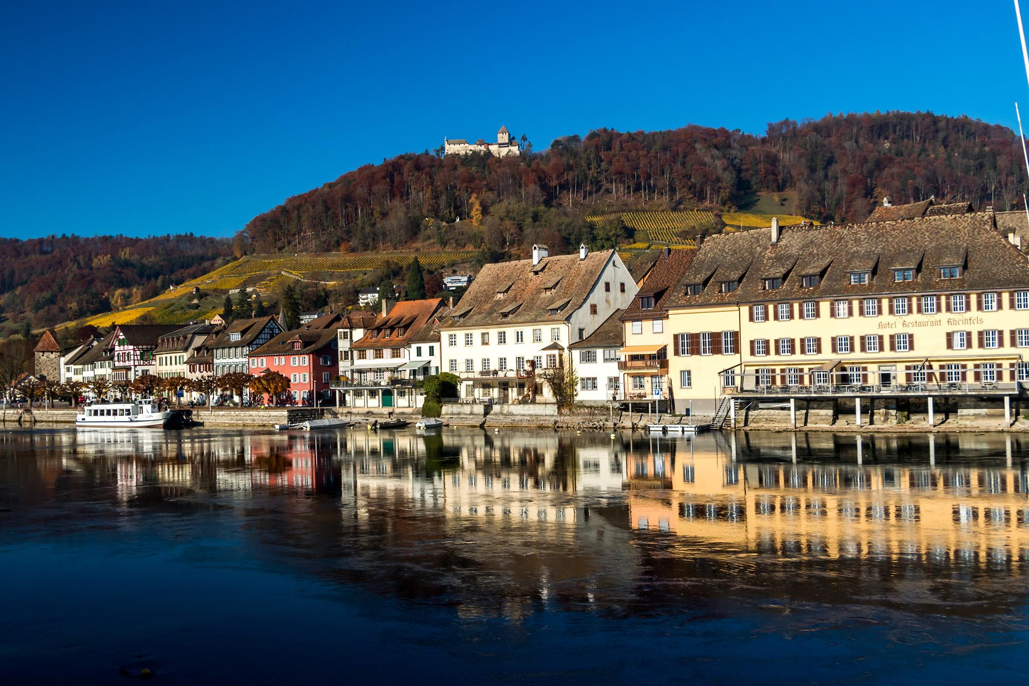 Stein am Rhein (SH) präsentiert sich in voller Pracht