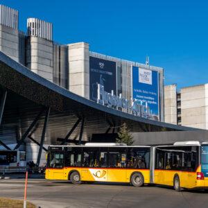 Willkommen am Flughafen Zürich - noch nicht ganz die Endstation :-)